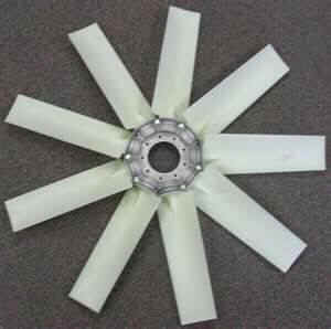 9-blade Type 4 hovercraft fan with polyamide blades